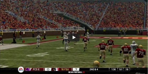 NCAA 10 Gameplay