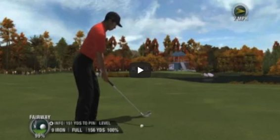 Tiger Woods 08 Gameplay